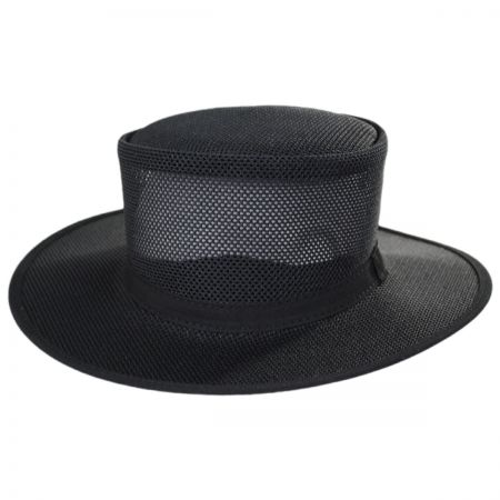 Duchess Mesh Wide Brim Top Hat alternate view 1