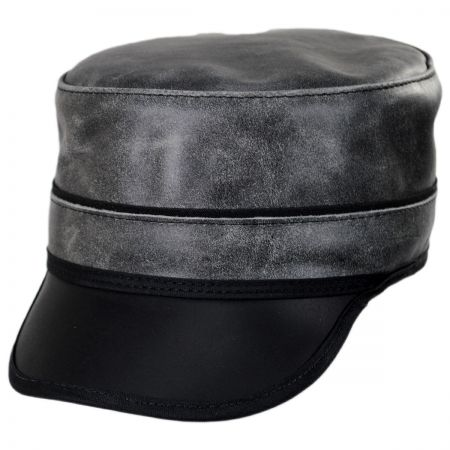 Bottle Rocker Leather Cadet Cap alternate view 9
