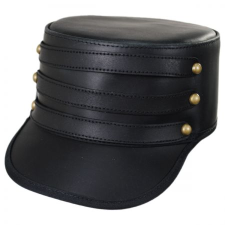 Leather Hats Caps at Village Hat Shop d1652bea4af