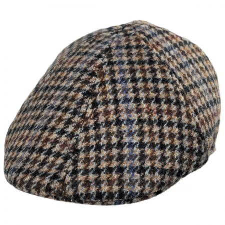 Houndstooth Flat Cap at Village Hat Shop 8427ddde35a
