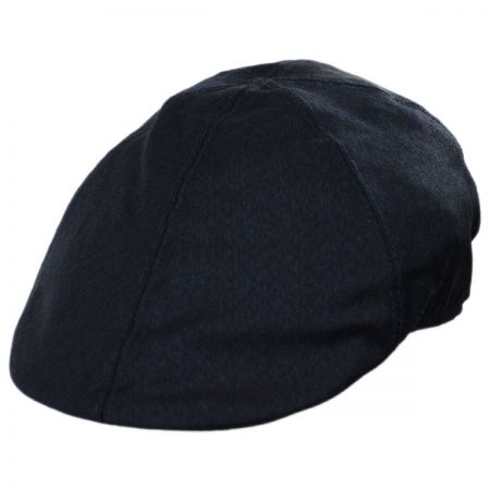 Baskerville Hat Company Bassett Wool Chevron Duckbill Cap