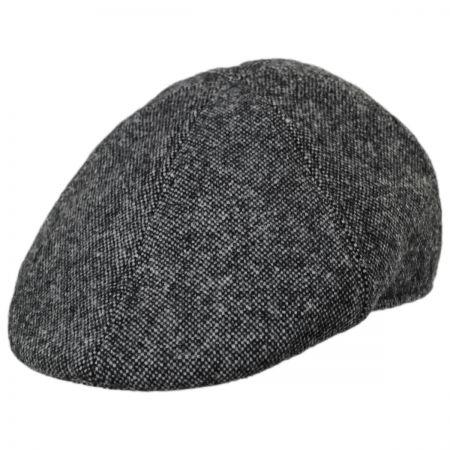 Knox Nailhead Wool Check Duckbill Cap