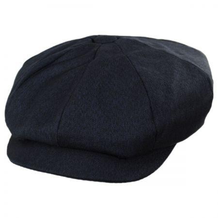Baskerville Hat Company Fitzroy Wool Chevron Newsboy Cap