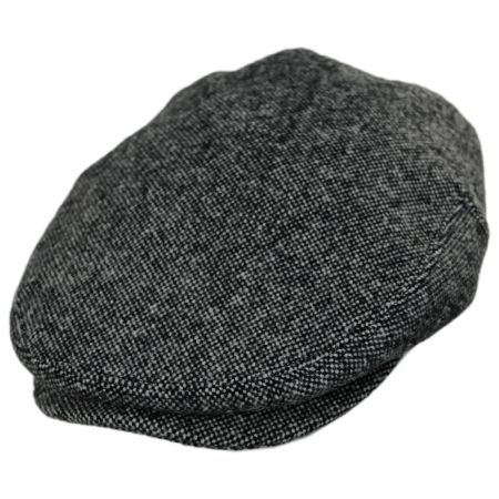 Baskerville Hat Company Bickenhall Nailhead Wool Check Ivy Cap