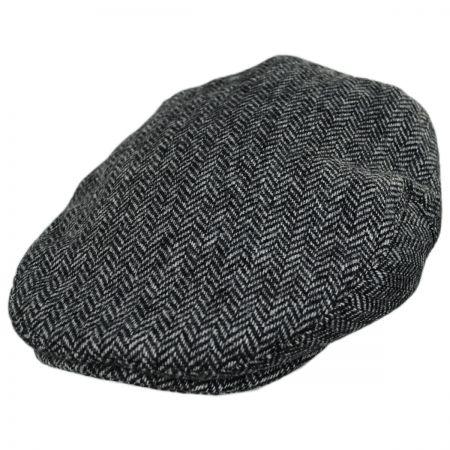 Baskerville Hat Company Kinnerton Wool Herringbone Ivy Cap