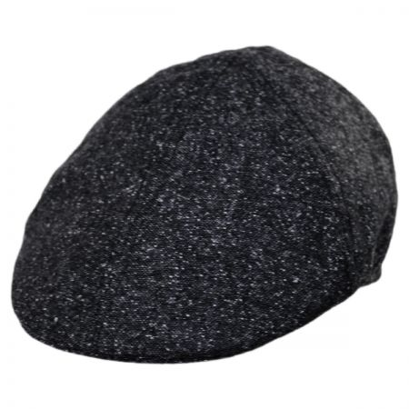 Baskerville Hat Company Seymour Wool Tweed Duckbill Cap