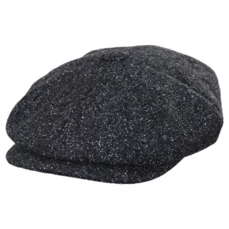 Baskerville Hat Company Brunswick Wool Tweed Newsboy Cap