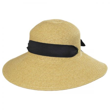 Callanan Hats Primrose Toyo Straw Blend Sun Hat