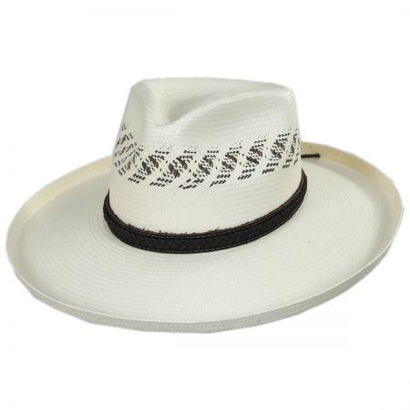 Edgy Shantung Straw Western Hat alternate view 1