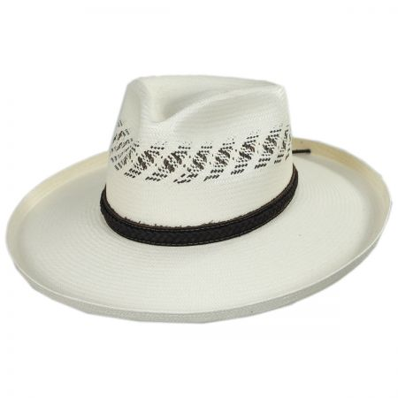 Biltmore Edgy Shantung Straw Western Hat