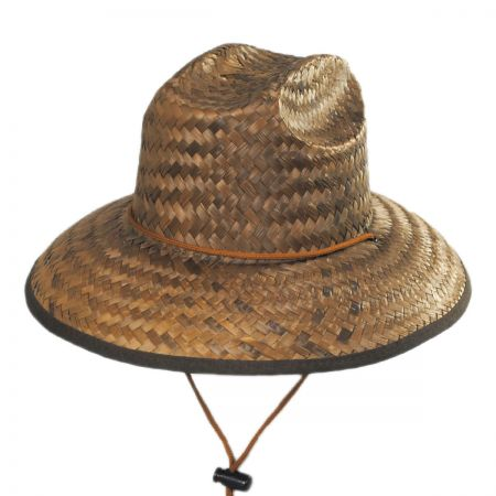 Costa Brava Palm Straw Kids Lifeguard Hat alternate view 1