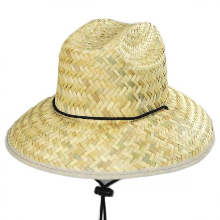 Costa Brava Palm Straw Kids Lifeguard Hat alternate view 5