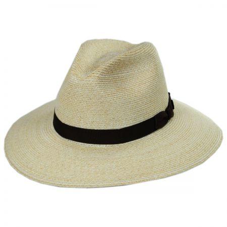 Sundowner Hemp Straw Fedora Hat