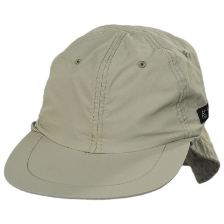 Excavator Nylon Fishing Flap Cap alternate view 13