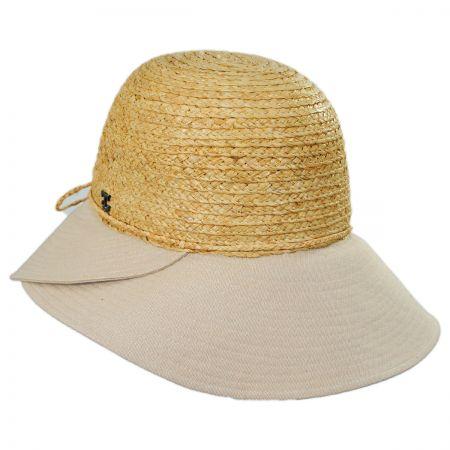 00a65ca513e520 White Cloche Hat at Village Hat Shop