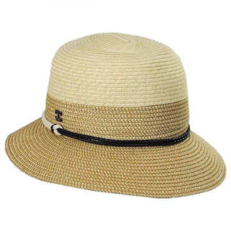 848e87607be Callanan Hats Sea Crest Toyo Straw Cloche Hat