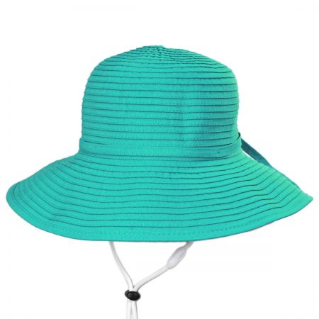 Seashell Ribbon Kids Sun Hat