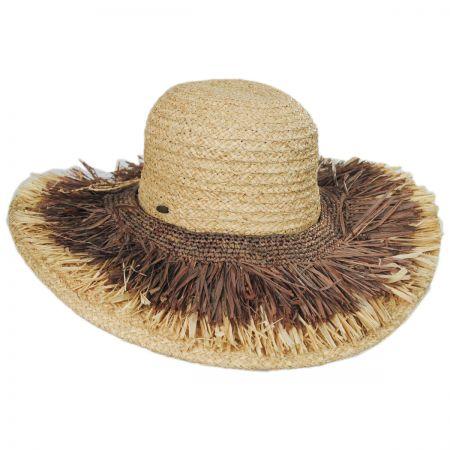Scala Cefalu Raffia Straw Swinger Hat