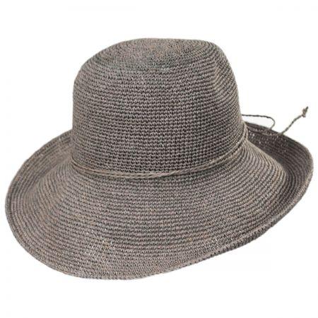 Graziella Breton Hand Crocheted Toyo Straw Sun Hat alternate view 5