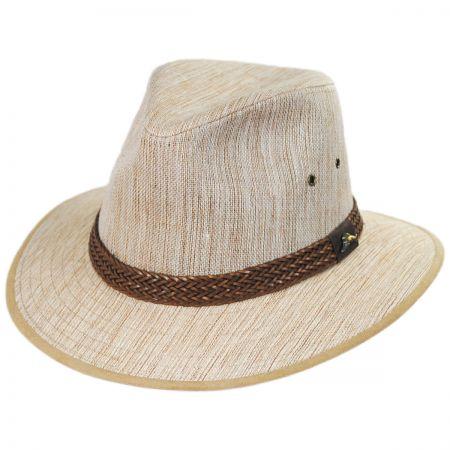 Caribbean Linen Fedora Hat alternate view 1