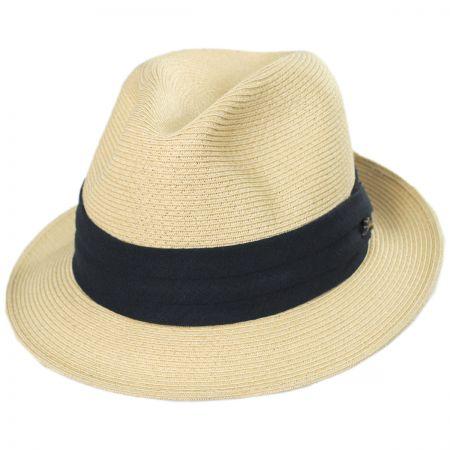 32ffdef88d86a Tommy Bahama Lighthouse Toyo Straw Fedora Hat