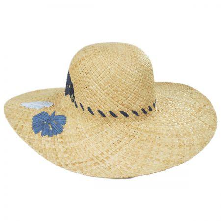 Bermuda Raffia Straw Swinger Hat alternate view 1