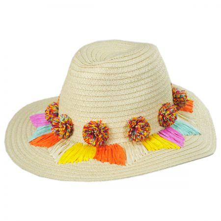Ushuaia Toyo Straw Fedora Hat alternate view 1