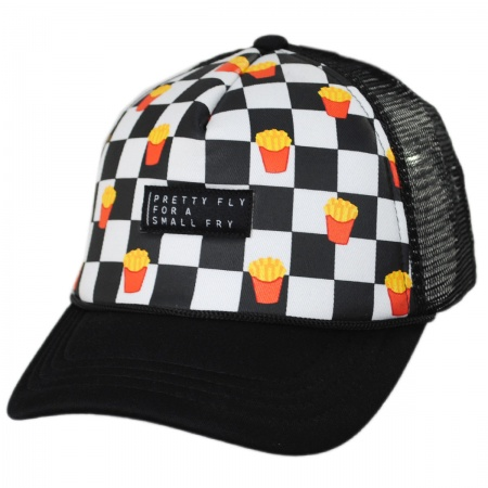 4557a04ad98 San Diego Hat Company Kids Small Fry Trucker Snapback Baseball Cap