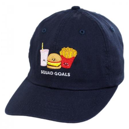 San Diego Hat Company Kids Squad Goals Strapback Baseball Cap