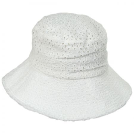 San Diego Hat Company Eyelet Cotton Bucket Hat