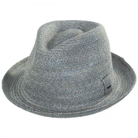 Grey Fedora Hats at Village Hat Shop 02a74734139b