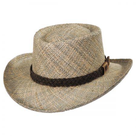 Bailey Melton LiteStraw Seagrass Gambler Hat