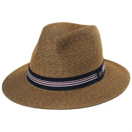 Hester Toyo Straw Blend Fedora Hat alternate view 9