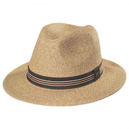 Hester Toyo Straw Blend Fedora Hat alternate view 5
