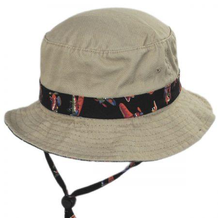 Aircraft Cotton Kids Bucket Hat