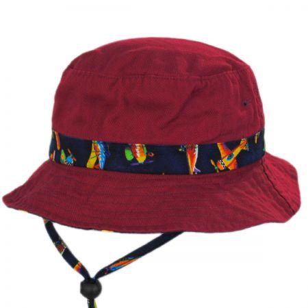Aircraft Cotton Kids Bucket Hat alternate view 9