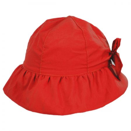 Scala Hatchling Ruffle Brim Infant Bucket Hat