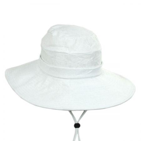 Pier Cotton and Linen Sun Hat alternate view 1