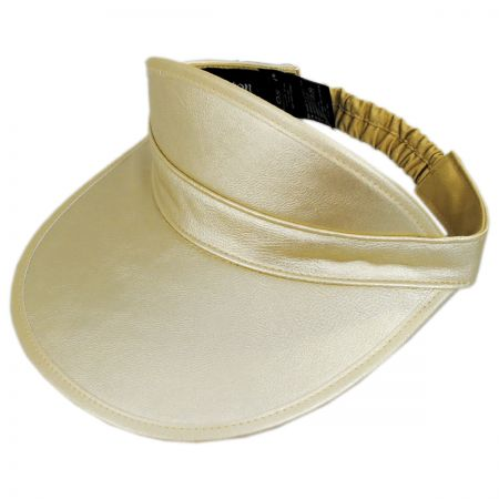Brixton Hats Monroe Faux Leather Visor