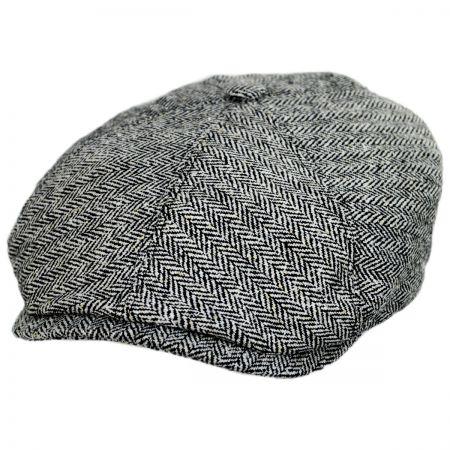 b9ec750b White Newsboy Cap at Village Hat Shop