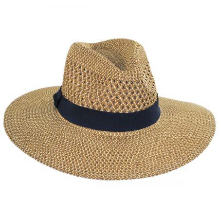 Blanchet Toyo Straw Blend Fedora Hat alternate view 5