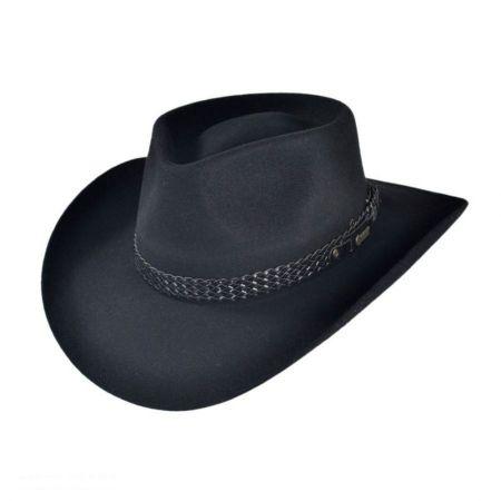 Snowy River Fur Felt Australian Western Hat alternate view 25