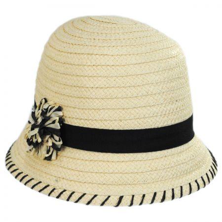 Kiki Toyo Straw Cloche Hat alternate view 5