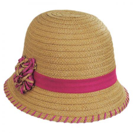 Kiki Toyo Straw Cloche Hat