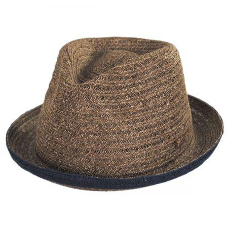 Noakes Toyo Straw Fedora Hat