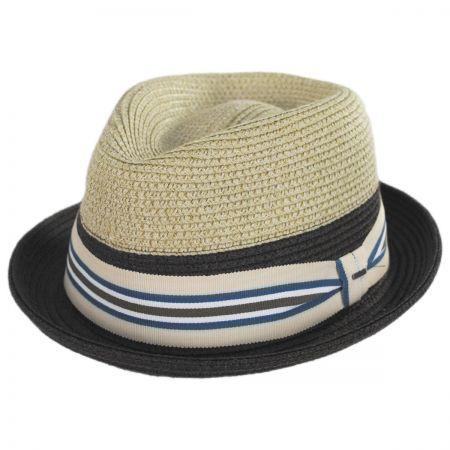 Rokit Toyo Straw Braid Trilby Fedora Hat alternate view 1
