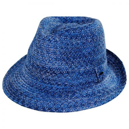 Blue Fedora Hats at Village Hat Shop 09f96f3017d