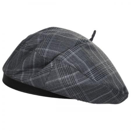 Brixton Hats Audrey Plaid Beret