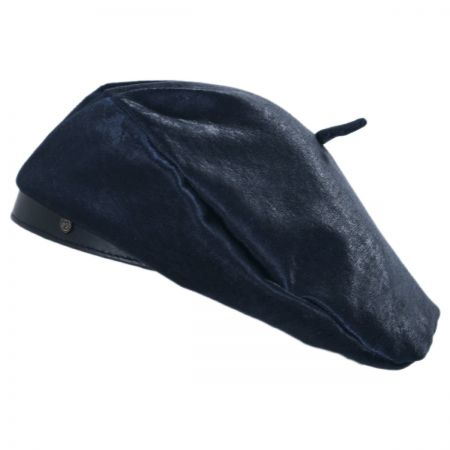 Brixton Hats Audrey Faux Pony Hair Beret