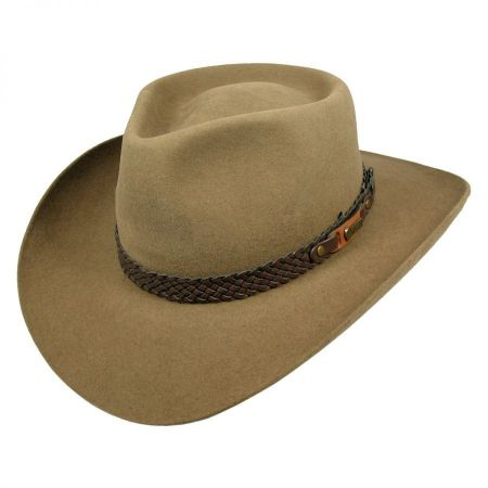 Snowy River Fur Felt Australian Western Hat alternate view 26